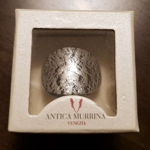 ATHENTIC ANTICA MURINA GLASS RING